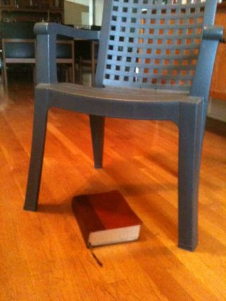 Bible chair